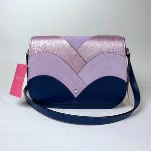 Kate Spade Flap Shoulder Bag Nadine Patchwork